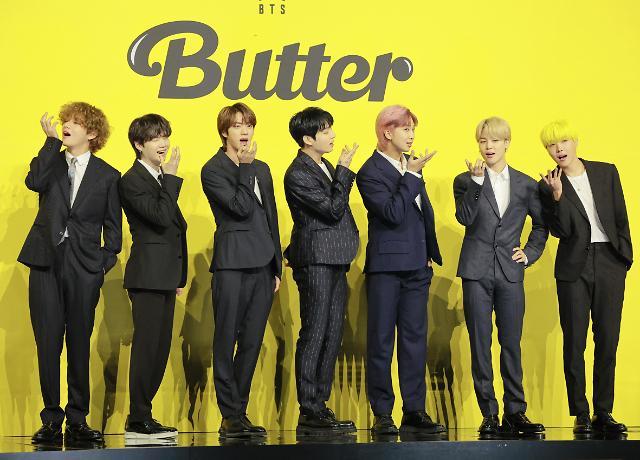 BTS新歌《Butter》创5项吉尼斯世界纪录