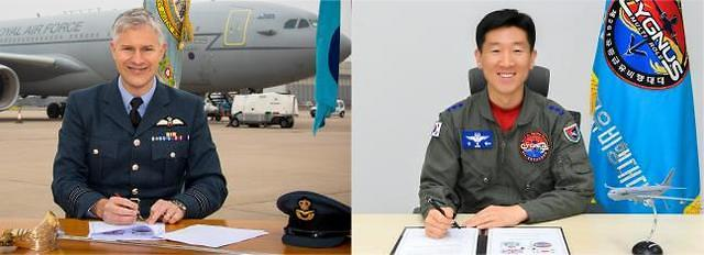공군, 영국과 공중급유기 작전 경험 교류