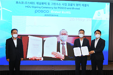 Orsted selects POSCO as partner for wind farm and green hydrogen projects