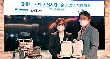 Hyundai auto group to demonstrate self-driving wheelchair