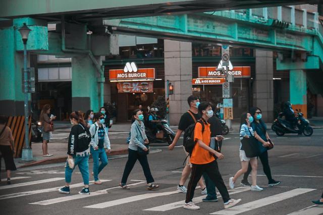 [NNA] 타이완, 방역규제 강화... 마스크 미착용 시 곧바로 벌금
