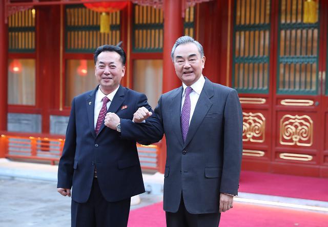 중국, 한미정상회담 견제... 北 대사 만나 '혈맹' 과시