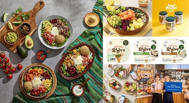 샐러드 전성시대…맛·건강·편의성 잡아라