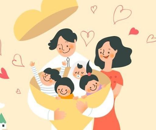 统计:韩国多子女家庭数量持续减少