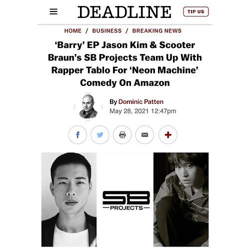 歌手Tablo签约亚马逊工作室参与美剧制作
