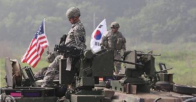 8월 예정 한·미 연합훈련 규모 축소 유력