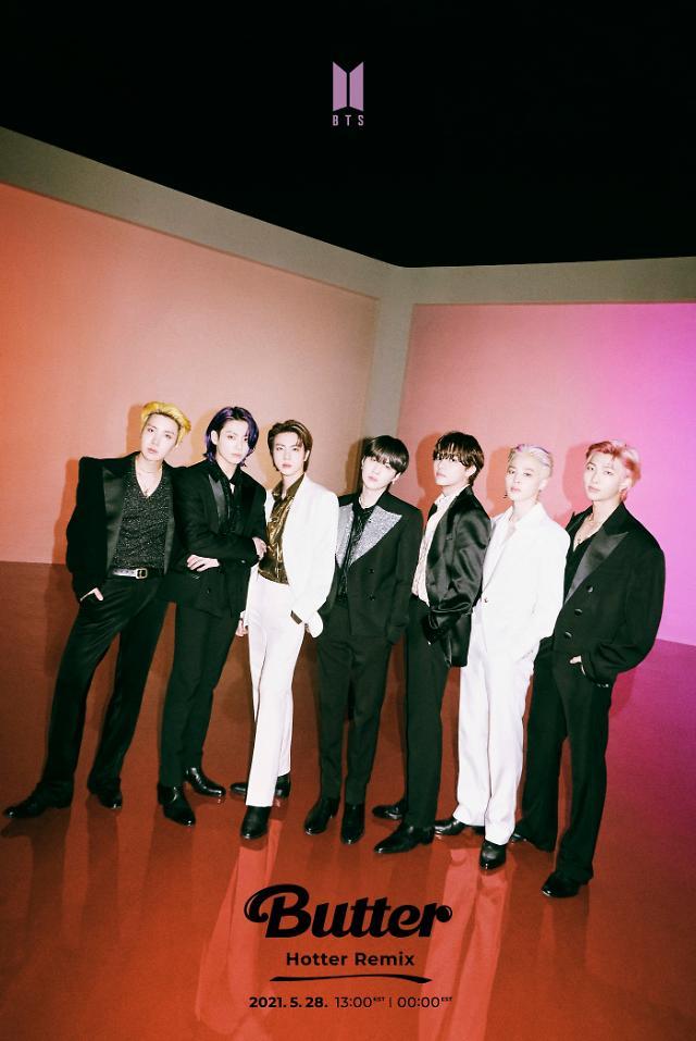 방탄소년단, 버터로 일본 오리콘 주간 실시간 재생 2주 연속 1위