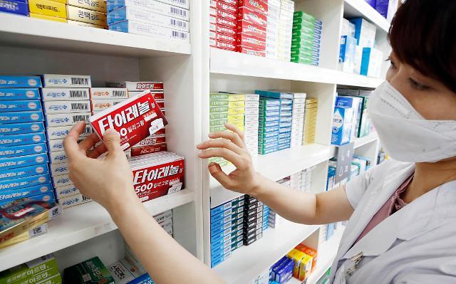 [포토] 백신 접종 이어지자 타이레놀 인기
