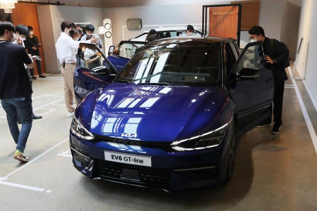 起亚电动汽车EV6