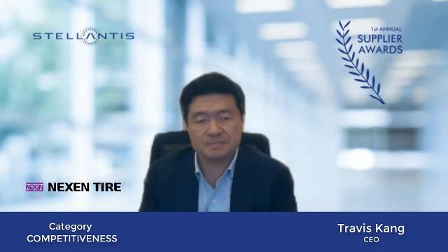 넥센타이어, 스텔란티스 선정 '올해의 최우수 공급업체'