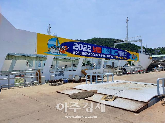 보령시, 2022보령해양머드박람회 이색적인 홍보활동 '눈길'