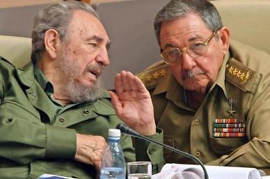 김정은, 쿠바에 또 축전...라울 카스트로에 친근한 벗
