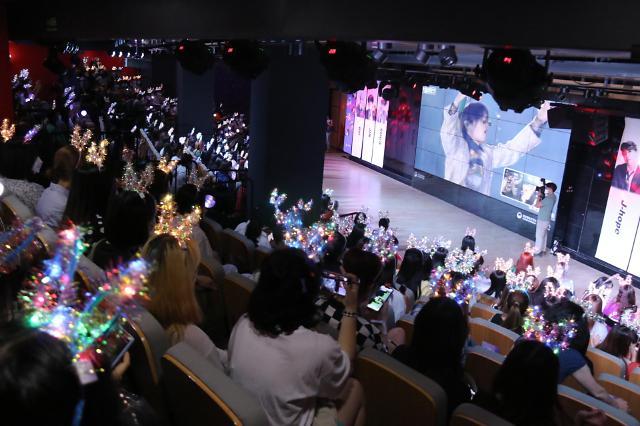 韩国观光公社在华办防弹庆典宣传韩国旅游
