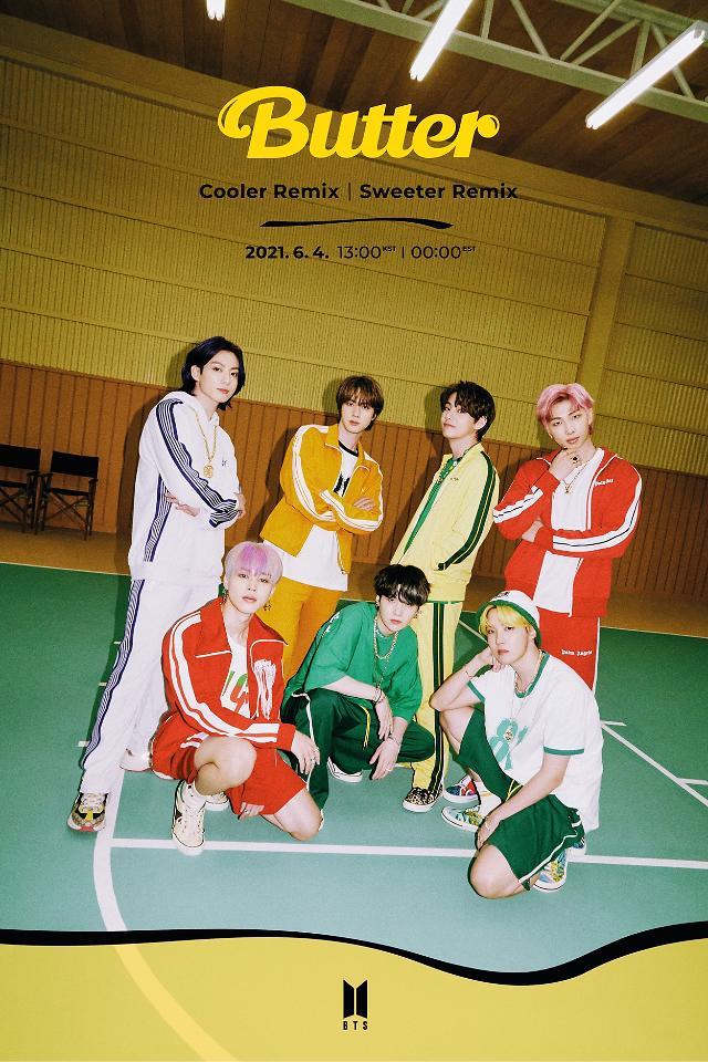 거침없는 방탄소년단, 버터로 미국 빌보드 핫100 2주 연속 1위