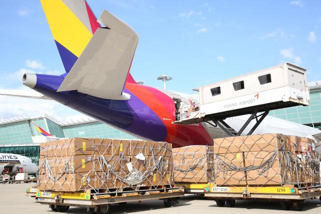 아시아나항공, 1분기 여객기로 화물 3만5000t 수송했다