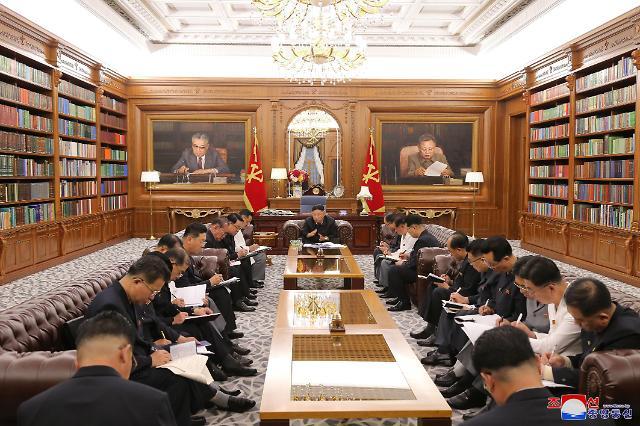김정은, 당 간부협의회 소집...전원회의 앞두고 사전 점검