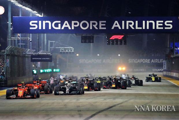 2019년 9월 F1 싱가포르 GP 개최 모습