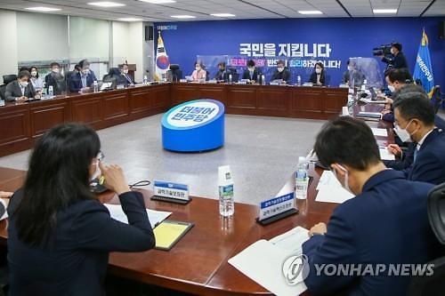 """윤호중 """"미사일 지침 해제 선언...우주 산업의 새 지평을 열었다"""""""