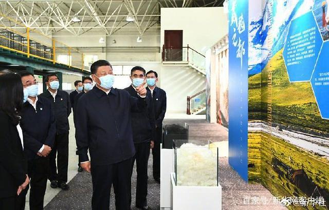 中시진핑 칭하이성 방문…어디 둘러봤나