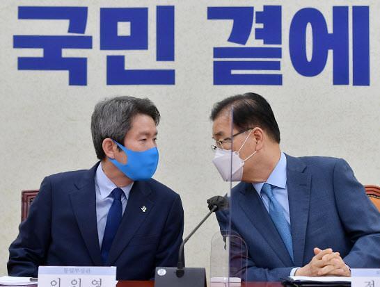 """정의용·이인영 방미일정 조율...""""남북시계 다시 움직일 것"""""""
