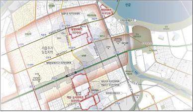 청담·도곡아파트지구 세 개 지구단위계획구역으로 나뉜다