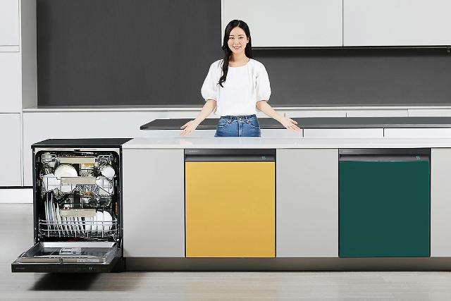 삼성, '360도 제트샷' 기능 더한 비스포크 식기세척기 출시