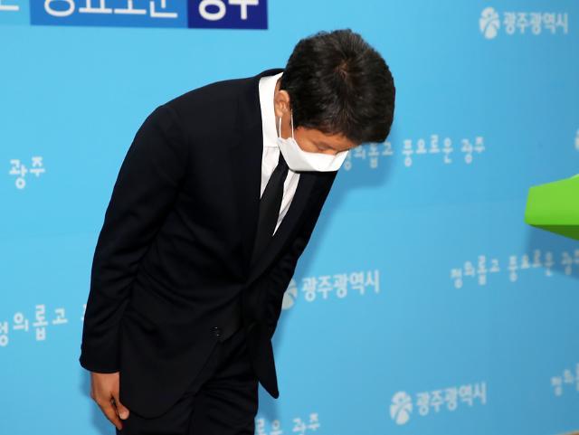 """정몽규 HDC회장 """"광주 붕괴사고, 무거운 책임 통감...진심으로 사죄"""""""