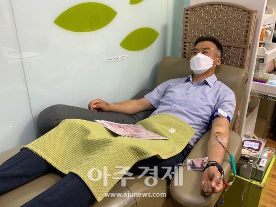 NH농협 의왕시지부, 사랑의 생명 나눔 헌혈 캠페인 펼쳐