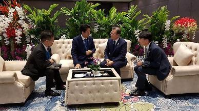 [아주 정확한 팩트체크] 아베 총리와 했던 韓日 약식회담...G7에서도 가능할까?