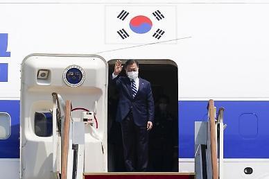 文, G7 정상회의 참석차 11일 출국…유럽 3개국 순방