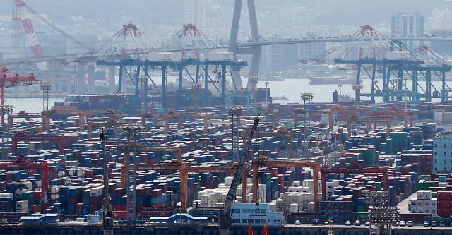 韩国5月进口物价指数环比上涨2.6%