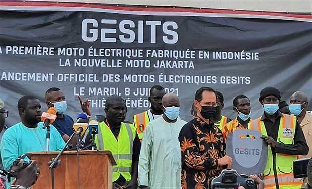 [NNA] 印尼 전동 스쿠터 그싯, 세네갈에 200대 수출