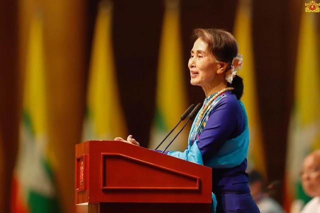 [NNA] 미얀마 수치 고문, 부패혐의로 기소