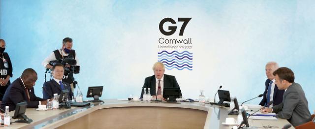 문 대통령, G7 정상회의 일정 마무리…'2050 탄소중립' 의지 강조