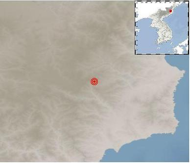 北 함경도 핵실험장 인근서 진도 2.5 지진..기상청 자연지진