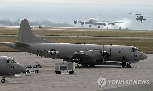 미군 정찰기 한반도 집결...北탄도미사일·잠수함 동향 파악 분석