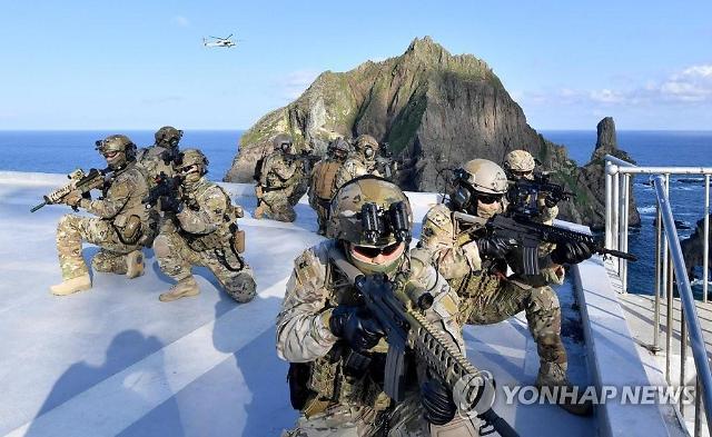 해·공군, 해경과 함께 15일 독도방어훈련 돌입