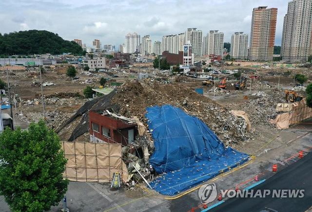 경찰 광주 건물붕괴 사고 재개발사업에 조폭 관여 의혹 수사