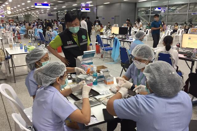 [NNA] 태국 지역사회 감염 3345명... 기업종사자 접종 일정 또 연기