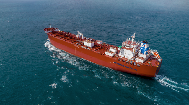 Regulations revised to approve domestic operation of ships powered by methanol