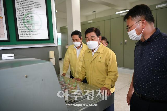 황선봉 예산군수, 여름철 자연재난 최소화 위한 방재시설 점검
