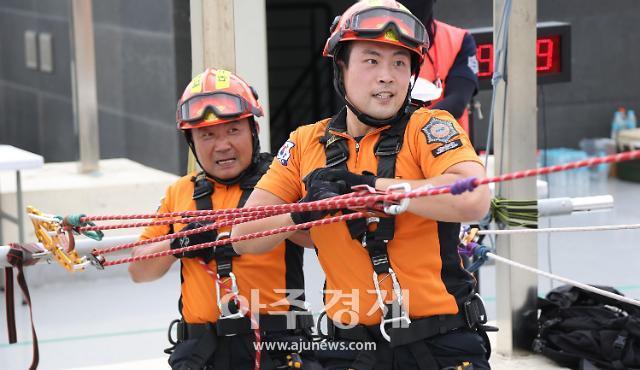 대구소방안전본부, 최강 구조 전술 분야 구조대원 뽑아