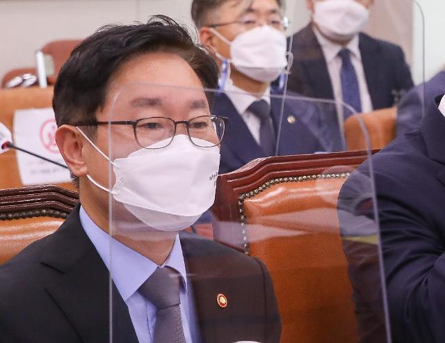 """박범계 """"김오수 의견 수용해 직접수사 장관 승인제 철회"""""""