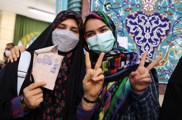 [오늘의 세계 사진] 선거하는 이슬람 공화국...이란 대선 이모저모