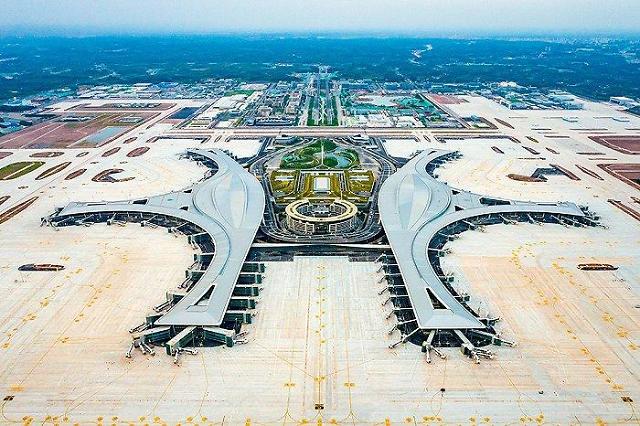 27일 문 여는 中 청두 톈푸국제공항 미리보기