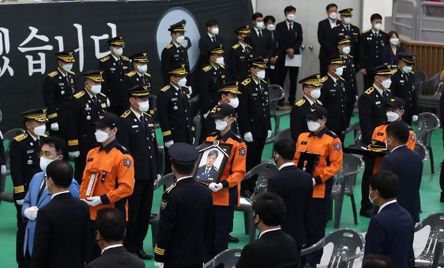 [포토] 故 김동식 소방령 영결식