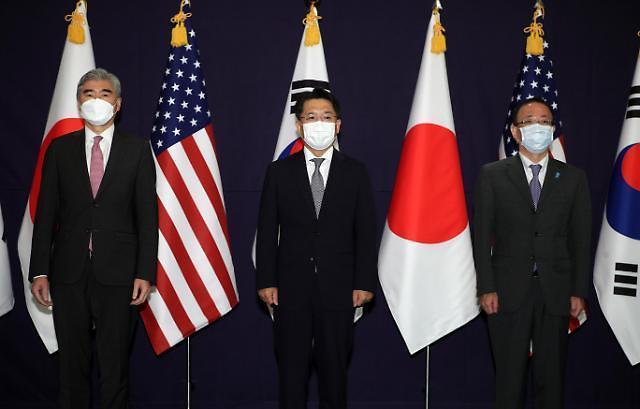 """日 """"한미일 협의서 북한 납치 문제 협력 지지받아"""""""