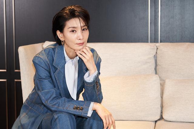 """김서형 """"멜로 때문에 마인 선택…넷플릭스 인기 실감"""""""