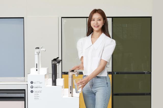 삼성 비스포크 정수기, 출시 3개월 만에 '국내 판매 1만대' 고지 점령