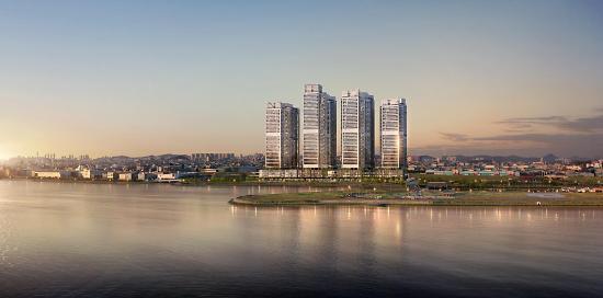 현대건설, 힐스테이트 시화호 라군 인테라스 오픈 분양몰이 나서